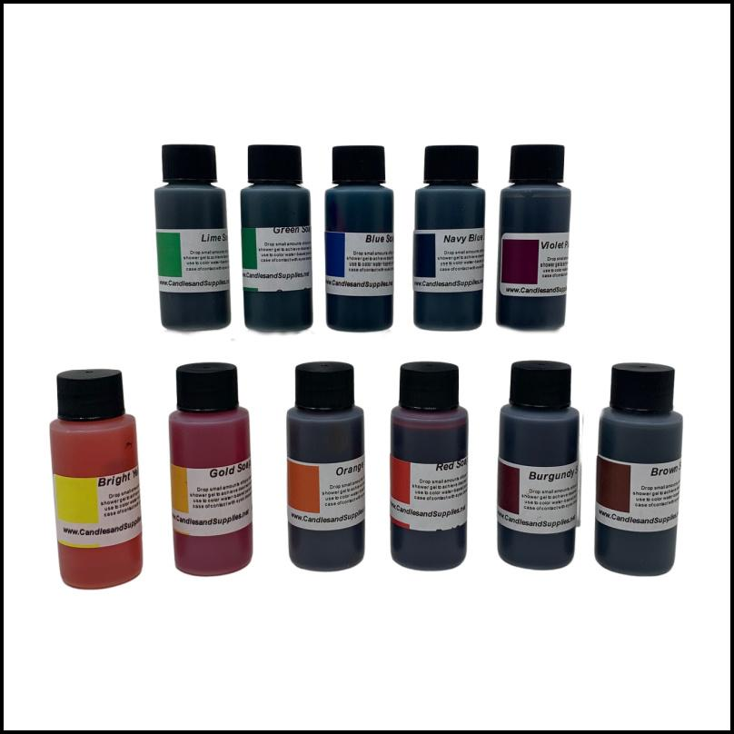 Download Soap Coloring & Dyes   Candles and Supplies
