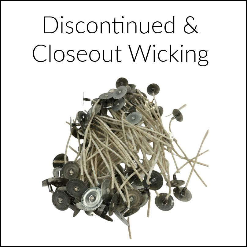 Wick Closeouts & Specials