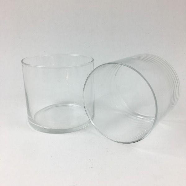 2 Regal parfumée Tumbler Candle dans bocal en verre Wid Fig 30 H Burn