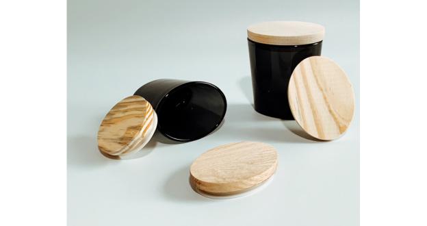 6 oz. Oval Jars & Wood Lids
